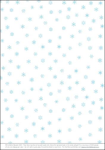 Download - Background Snowflakes Random Mint