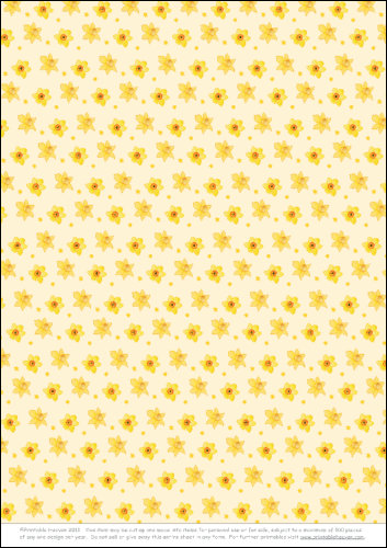 Download - Background - Daffodils