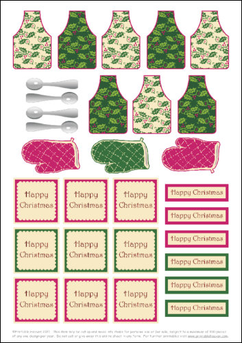 Download - Christmas Kitchen Minis 1