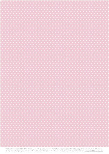 Download - Background - Polka Dot - Pink 2