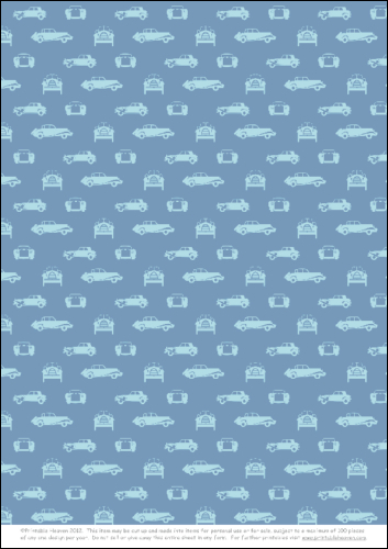 Download - Car Background - Blue