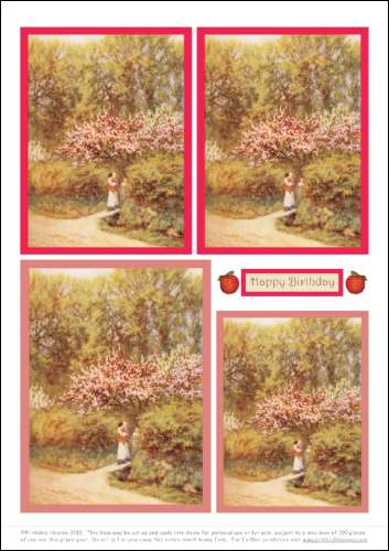 Download - Motifs - Apple and Pear Blossom