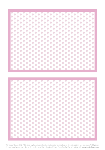 Download - Cocktail Polka 7 x 5 Panels - Portrait