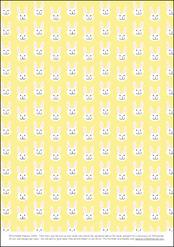 Download - Bunnies - yellow
