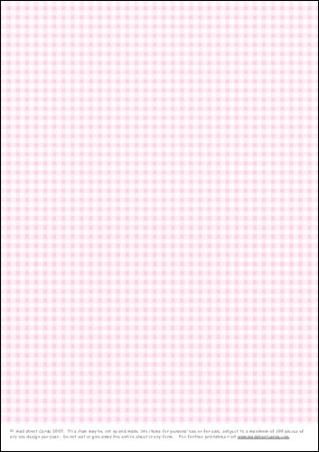 Download - Gingham - baby pink