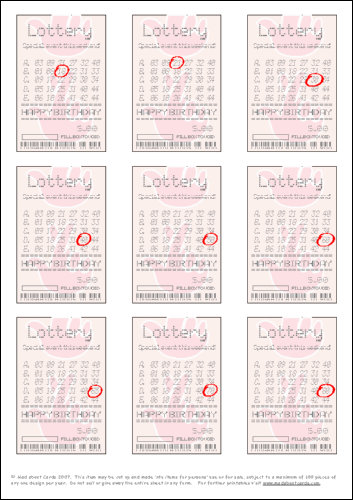 Download - Lottery tickets ages