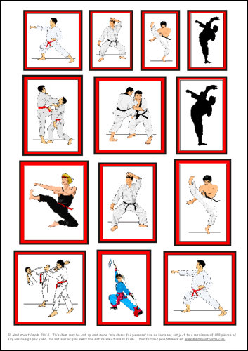 Download - Martial arts motifs