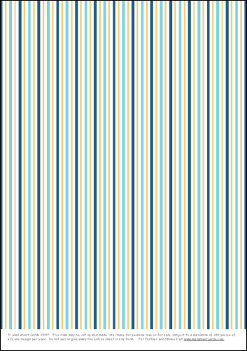 Download - Multi stripes - blue and gold