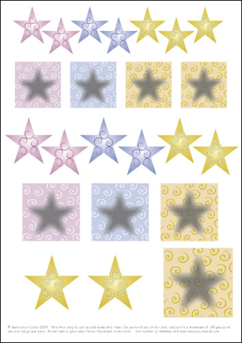 Download - Swirl stars DIY