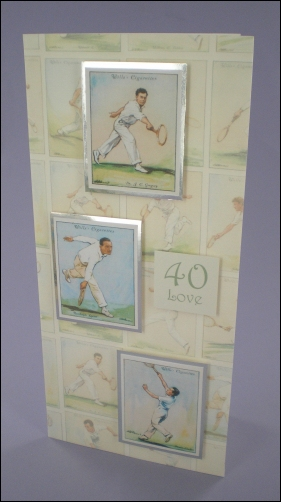 Project - Tennis Players Cigarette Cards card