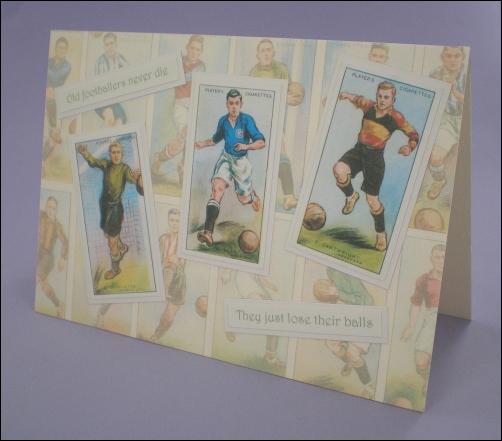 Footballer Cigarette Cards Card