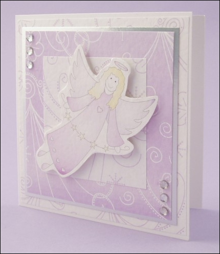 Violet Angel card