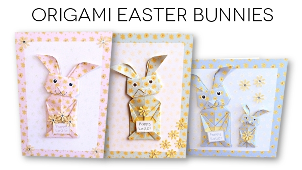Origami Easter Bunnies