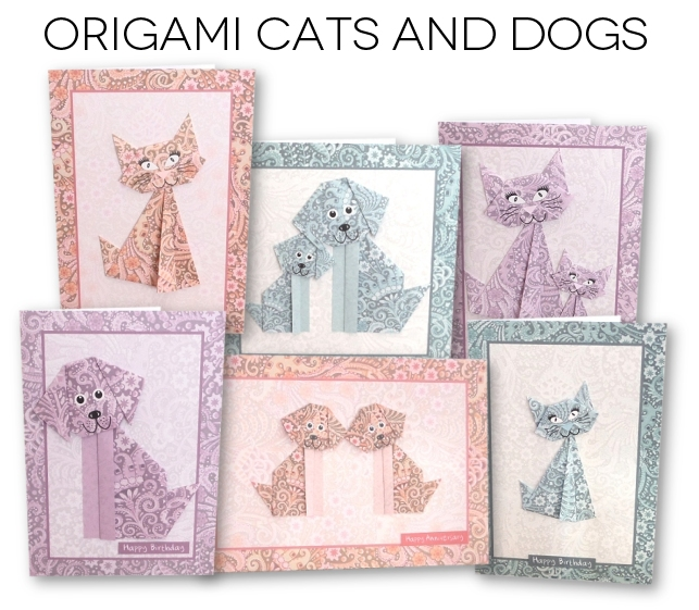 Origami Cats and Dogs