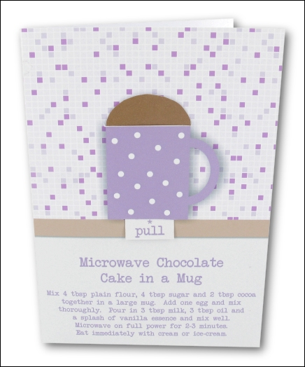 Project - Simple Chocolate Cake in a Mug - Lilac