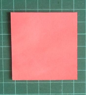Origami poinsettia