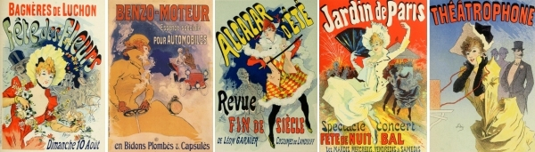 Posters of the Art Nouveau period