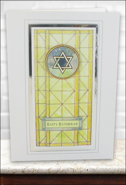 Project - Stained Glass Star of David