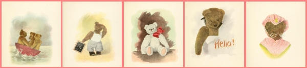 Frederick Cavally's Mother Goose's Teddy Bears (31 images)