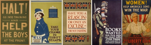 World War 1 posters