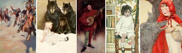 Howard Pyle & other Brandywine illustrators