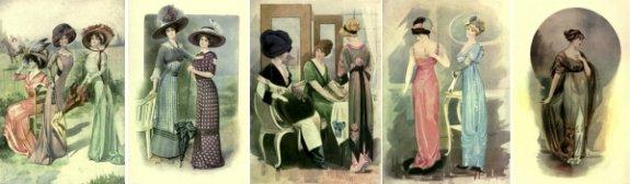 Dame Fashion 1783-1912