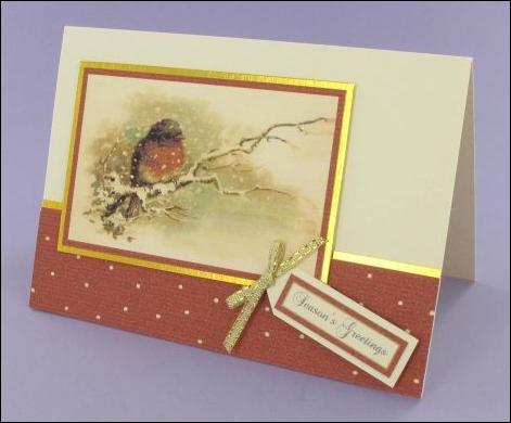 Project - Robin in Winter Card