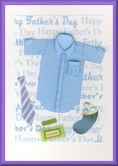 Project - Father's Day shirt card