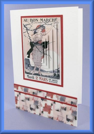 Project - Au Bon Marché Pyramage Card