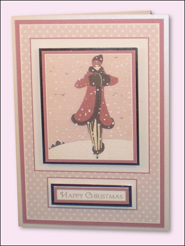 Project - Fashion Lady in Snow card