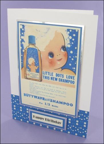 Project - Butywave Shampoo card