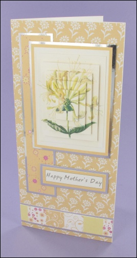 Project - Honeysuckle Mothers Day card