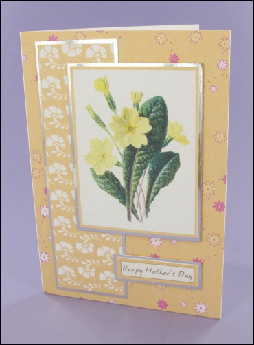 Project - Primrose Mothers Day card