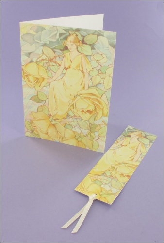 Project - Dream Roses Note card & Bookmark