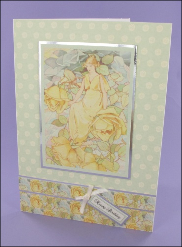Project - Dream Roses Motif card