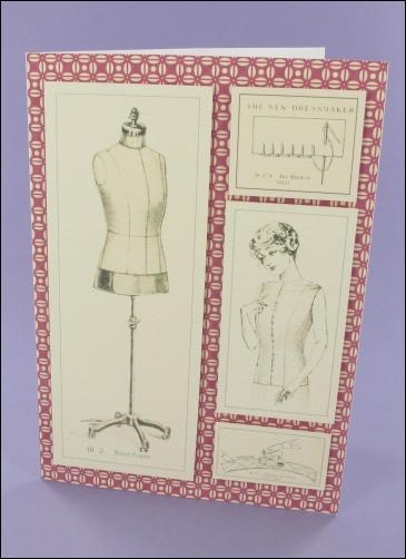 Project - 7 x 5 Dressmaking card