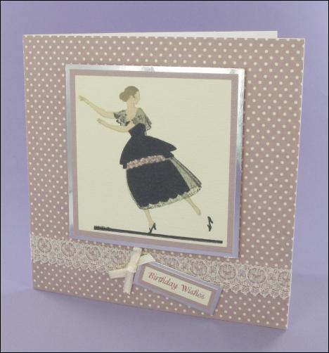 Project - Cendrillon Birthday card