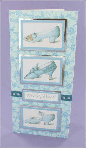 Project - Lovely Shoes Trio card