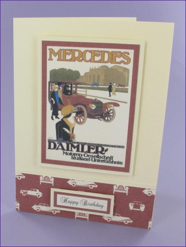 Project - Mercedes Daimler Birthday card
