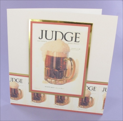 Project - Judge Beer card