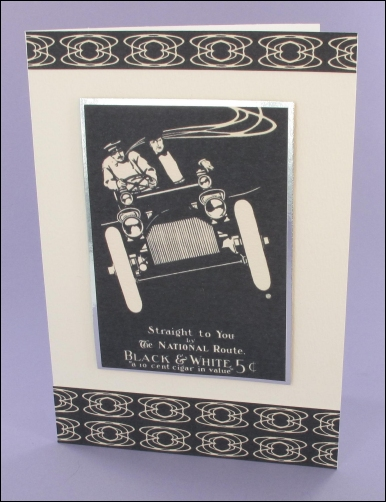 Project - Monochrome Mens card