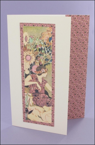 Project - Keira Bookmark card