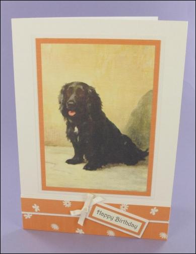 Project - Chris Dog card