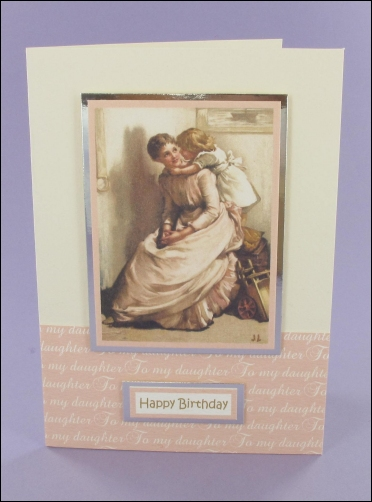 Project - To my Daughter card