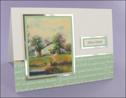 Project - Good Luck in your New Home card