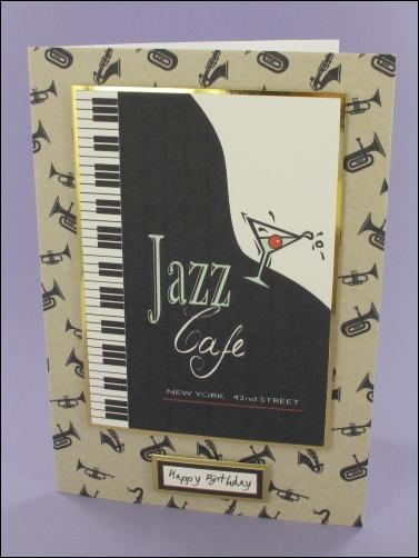 Project - Jazz Café card