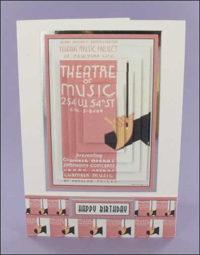 Project - Theatre of Music card