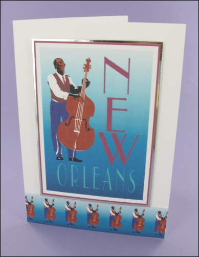 Project - New Orleans card