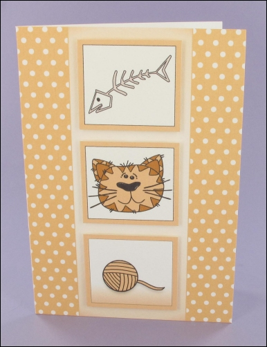 Project - Whiskers Three Icons card