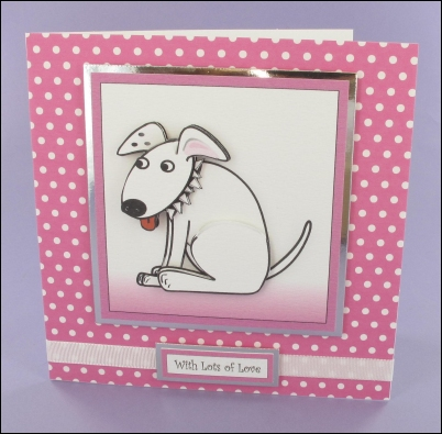 Project - Wagtail Square Decoupage Card